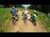 3 этап Кубка Урала по мини-мотокроссу 2014 год Пименов Антон №3