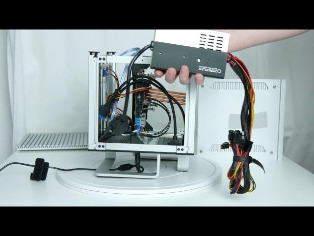 Ausgepackt angefasst [4K]: Streacom DB4 - ein lüfterloses Mini-ITX-Gehäuse