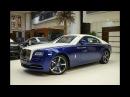 Salamanca Blue English White Rolls Royce Wraith 2017