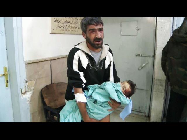 Сотни погибших и3000 искалеченных детей — таковы итоги противостояния вАлеппо.