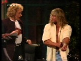 Ultimate Warrior &amp Jake Roberts @ Gottschalk (german tv, '93)