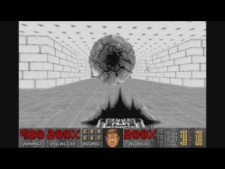 DOOM II. Hell on Earth. KEEN. SUPER SECRET LEVEL! (32)