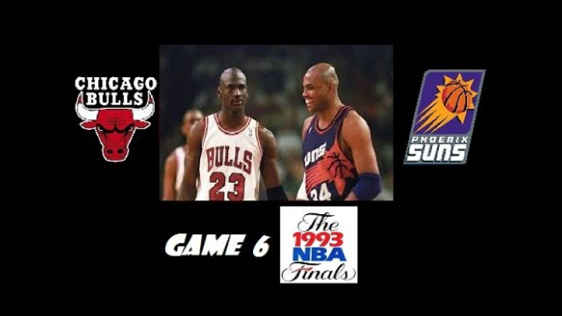 1993 NBA Finals Phoenix Suns vs. Chicago Bulls Game 6