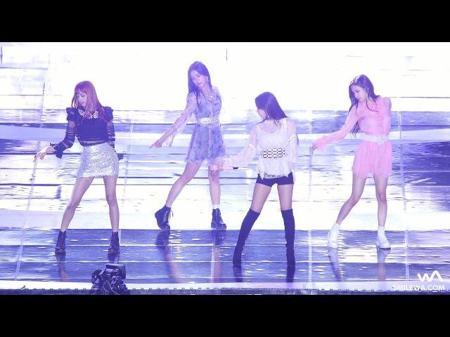 170924 BLACKPINK (블랙핑크) '불장난' 4K 직캠 @대전 SF 뮤직 페스티벌 4K Fancam by -wA-