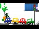 Macchinine colorate e il semaforo rotto | Cartoni animati per bambini