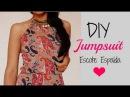 DIY JUMPSUIT - ESCOTE ESPALDA - Madeleyn ♡