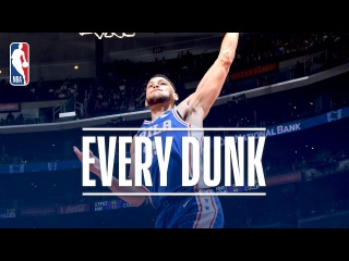 Ben Simmons, Doug McDermott, Kelly Oubre Jr. and Every Dunk From Monday Night | Nov. 13, 2017 #NBANews #NBA #76ers