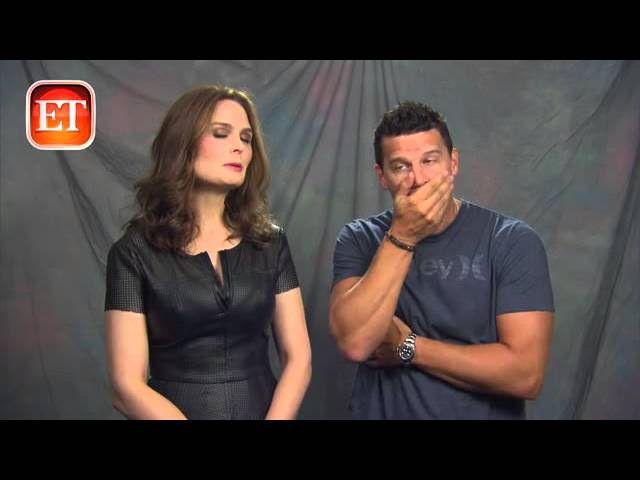 David Boreanaz Emily Deschanel Interview