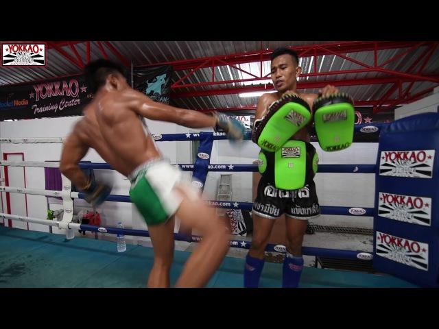 Manachai brutal Muay Thai training camp - YOKKAO Training Center Bangkok