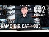 Gamo Big Cat 1000, установка газовой пружины, замена манжеты, стрельба через