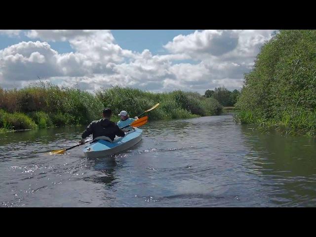 Сплав по реке Снов. Релакс видео