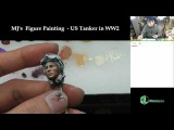 Man-Jin Kim's  Figure Painting  - 116 US Tanker in WW2 (Face painting - Part 2)
