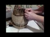 Корзина для лука и чеснока (3 часть)