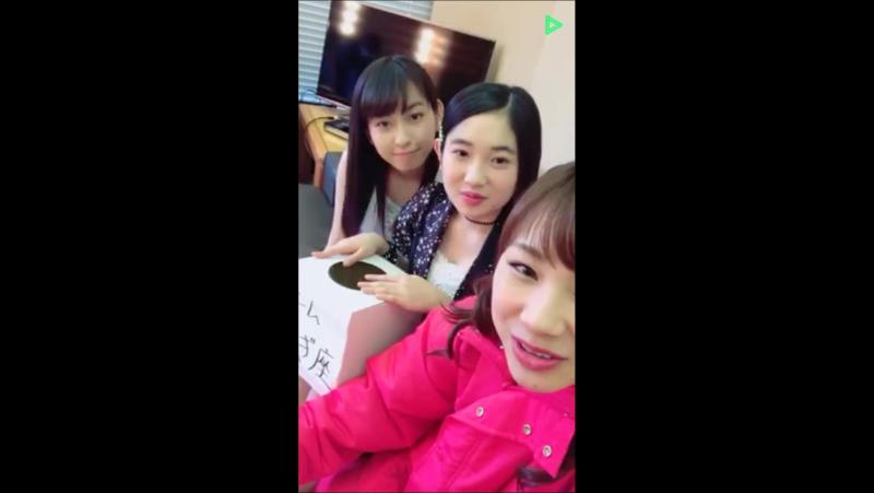 [LL] Line Live - Ishida Ayumi (Morning Musume), Yanagawa Nanami (Country Girls) Uemura Akari (Juice=Juice)