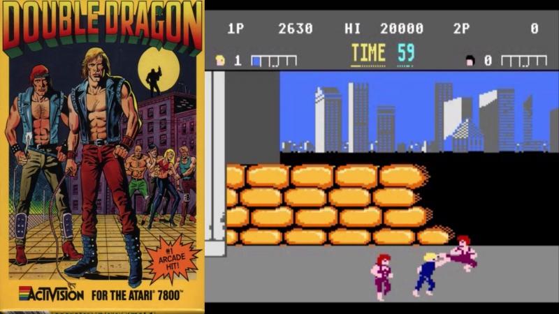 Все Игры на Атари 7800 ⁄ All Atari 7800 Games