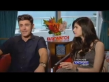 EXCLUSIVE- #ZacEfron talks Baywatch and Backstreet Boys!