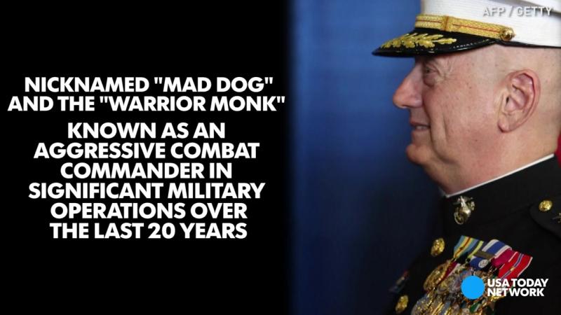 Donald Trump picks Mad Dog for Defense Secretary. Новый Министр обороны США по прозвищу