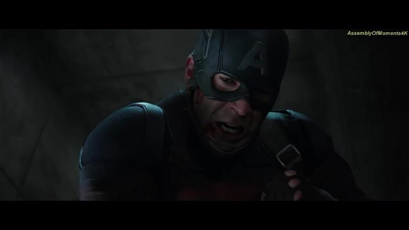 Тони Старк против Баки и Капитана Америки (Часть 2) _ Первый мститель_ Противост