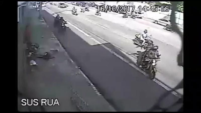 Полицейский отряд карателей в Бразилии