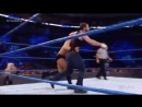 @TheDeanAmbrose takes out BOTH @AJStylesOrg and @MikeTheMiz with a combo bulldog and clothesline! Fatal4Way SDLive