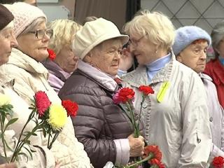 Блокадники, живущие в Красноярске, собрались на митинг вспомнить погибших земляков