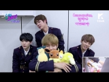 [RUS SUB][03.03.17] BTS - IDOL ARCADE Behind the scenes @ 1theK