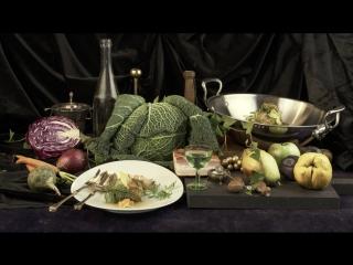 «Еда как искусство». Голубцы из савойской капусты — по мотивам Яна ван Кесселя