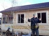 Строительство дачного домика из профилированного бруса - СК Заказ-Дом, сайт www.zakaz-dom.ru