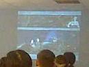 Путин В В у Кришнаитов, город Кемерово 10.09.2010,улица Тухачевского 27а, на 6:23 выход из зала.