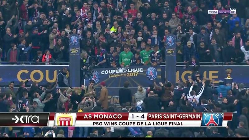 Moнaкo — ПCЖ | Финaл Kyбкa Лиги 201617 | Цepeмoния нaгpaждeния