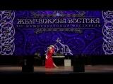 Nikulina Daria 1st place in baladi improvisation professional. Orchestr Baladi band