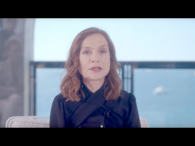 Isabelle Huppert Women in Motion at Cannes Film Festival (in French)