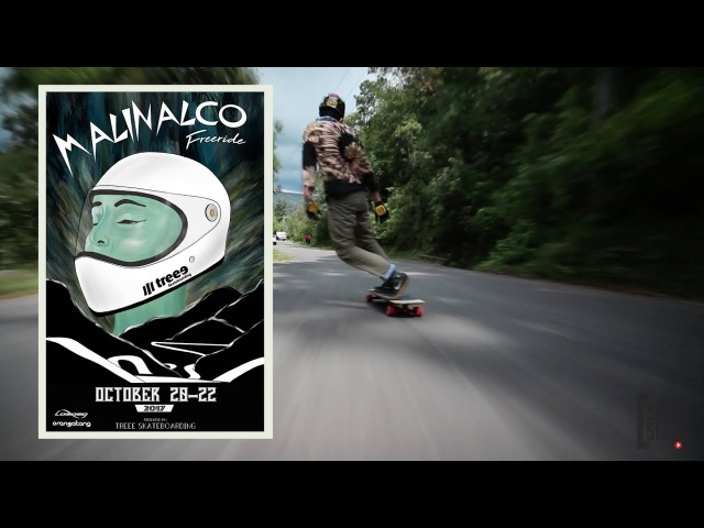 Malinalco Freeride Raw Run: Oscar Gutierrez - Skate[Slate].TV