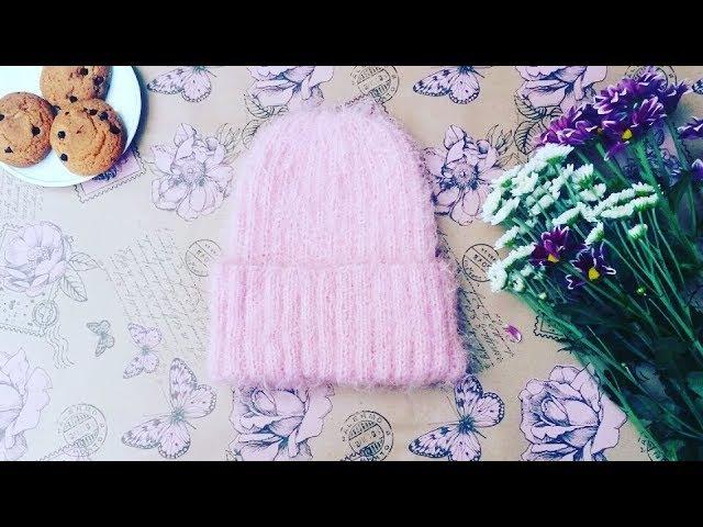 Мк шапка с идеальной макушкой.Часть 1