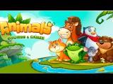 Animals: Sounds & Games/Учим Звуки Животных.Веселые Животные на Английском.Обучающий Муль ...