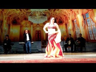 Королева Arabian Queen 2017,Дудинская Марина, 1 место, взрослые Raks Sharki продолжающие