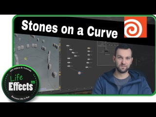 Curve Normals For Stones In Houdini | Let's VFX # 4