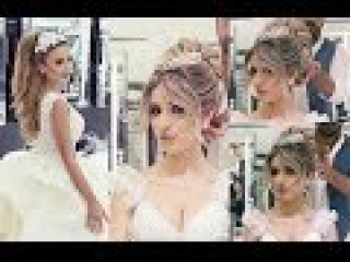 Beautiful Wedding Hair [Bride] by Mounir Salon