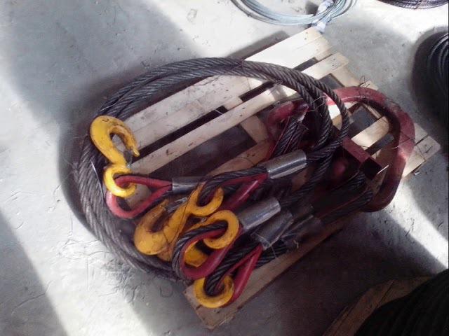 строп 4СК 25т 4м паук канатный четырехветвевой