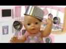 Сборник с куклой Беби Бон Как МАМА Готовим завтрак обед и ужин Видео для девочек