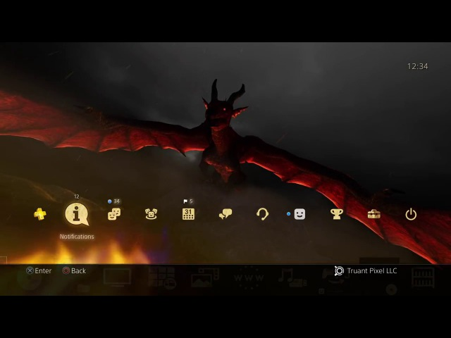 Dragon's Dogma Dark Arisen Dynamic Theme by Truant Pixel
