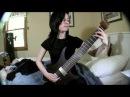 Sarah Longfield Pravus by Meshuggah cover