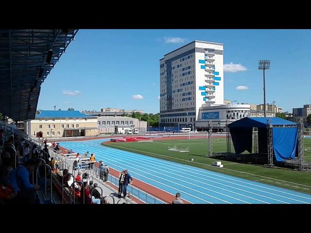 Чемпионат Россий среди лиц СПОДА 2017.19-24 мая Смоленск. Финал 200 метров. Класс Т35.