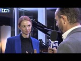 Lena Katina (ex t.A.T.u.) in Italia - TG1 11/12/2014