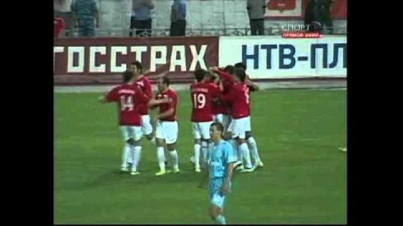 Спартак (Нальчик) 2-2 Зенит / 14.06.2009 / Премьер-Лига