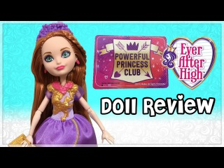 Ever After High Powerful Princess Club Holly O'Hair Doll Review