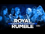 WWE Royal Rumble KickOff Show 2017 Six Women's Tag Team Match