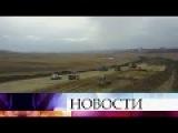 ВКрыму начались работы наместе будущих автомобильных подходов кпереправе и ...