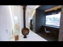 Спальня будущего, гостиная с камином, музыкальная студия и ванная в одном большо...