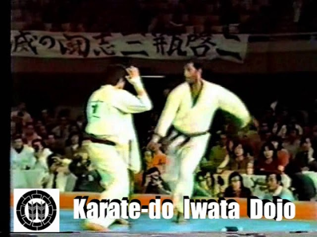 Takashi Azuma vs Eddie Frasier - Kyokushin 2nd World Tournament 1979